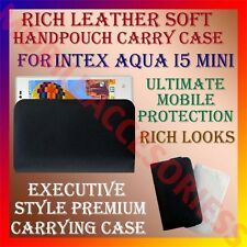 ACM-RICH LEATHER SOFT CARRY CASE for INTEX AQUA I5 MINI MOBILE HANDPOUCH COVER