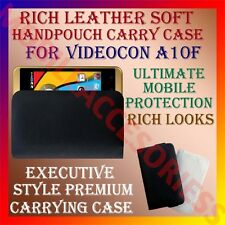 ACM-RICH LEATHER SOFT CARRY CASE for VIDEOCON A10F MOBILE HANDPOUCH COVER POUCH