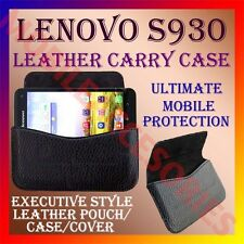 ACM-HORIZONTAL LEATHER CARRY CASE for LENOVO S930 MOBILE RICH POUCH COVER HOLDER