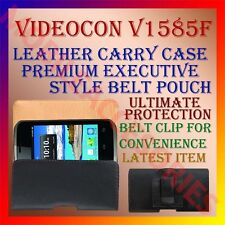 ACM-BELT CASE for VIDEOCON V1585F MOBILE LEATHER CARRY POUCH COVER HOLDER CLIP
