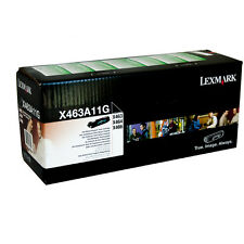 GENUINE LEXMARK X463A11G BLACK RETURN PROGRAM LASER PRINTER TONER CARTRIDGE