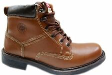 LEE COOPER LEATHER BOOTS  IN TAN COLOUR DURABLE IN ALL SEASON COMFORTABLE SHOE