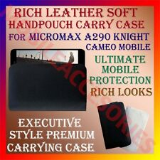 ACM-RICH LEATHER SOFT CARRY CASE for MICROMAX A290 KNIGHT CAMEO HANDPOUCH COVER