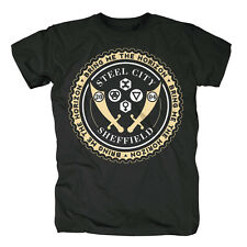 BRING ME THE HORIZON - STEEL CITY SHEFFIELD CREST - OFFICIAL MENS T SHIRT