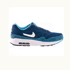 189f25a249 Original Mens Nike Air Max 1 Premium Tape Trainers Blue Reflective 599514410