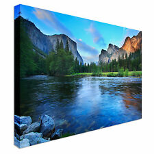 Calm beautiful Lake Landscape Canvas Art Cheap Wall Print Picture Any Size