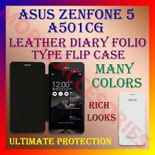 ACM-LEATHER DIARY FOLIO FLIP FLAP CASE for ASUS ZENFONE 5 A501CG MOBILE COVER