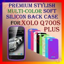 ACM-PREMIUM MULTI-COLOR SOFT SILICON BACK CASE for XOLO Q700s PLUS MOBILE COVER