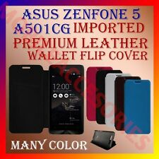 ACM-MULTI-COLOR IMPORTED PREMIUM LEATHER CASE for ASUS ZENFONE 5 A501CG COVER