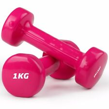 Gallant Dumbbells Hand Weights Vinyl Dumbells Set Home Fitness Exercise Ladies