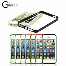 GorillaTech Impact Protection Soft TPU Gel Case PC Rim Bumper Cover For iPhone