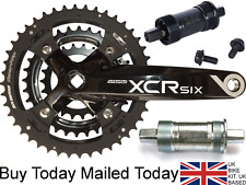Suntour XCR CHAINSET Alloy 175mm Crank Bike 8 9 Speed Shimano Compatible22/32/44