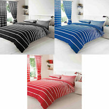 Linear Stripe Duvet Cover Quilt Cover Bedding Set Striped Design Pillow Cases
