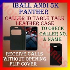 ACM-CALLER ID TABLE TALK CASE for IBALL ANDI 5K PANTHER MOBILE FLIP COVER NEW
