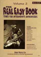 Real Easy Book Vol.2 Jazz Play Bass Clef Edition Instruments Sher Music BOOK