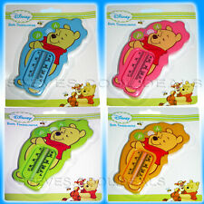 DISNEY WINNIE THE POOH BATH FLOATING THERMOMETER BABY  WATER TEMPERATURE SAFETY