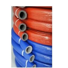 """Isolierschlauch ROT, BLAU Rolle 10m ThermaCompact IS10 18/6mm 3/8"""" Zool Alu Pex"""