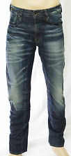 G-STAR RAW A CROTCH TAPERED Jeans slim fit Dark Aged homme