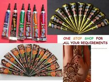 HENNA  HINA  TUBES CONES - ONE  STOP  SHOP  - 100 % TRUSTED SELLER - FAST SHIP