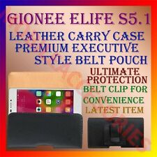 ACM-BELT CASE for GIONEE ELIFE S5.1 MOBILE LEATHER POUCH CARRY COVER CLIP HOLDER