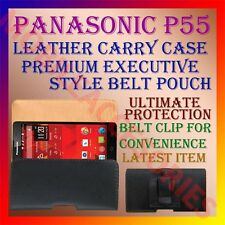 ACM-BELT CASE for PANASONIC P55 MOBILE LEATHER POUCH CARRY COVER CLIP HOLDER NEW