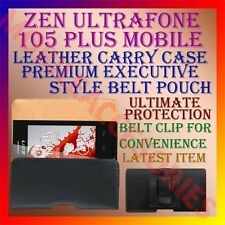 ACM-BELT CASE for ZEN ULTRAFONE 105 PLUS MOBILE LEATHER POUCH COVER CLIP HOLDER