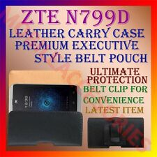 ACM-BELT CASE for ZTE N799D MOBILE LEATHER POUCH PREMIUM COVER HOLDER PROTECT