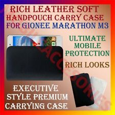 ACM-RICH LEATHER SOFT CASE for GIONEE MARATHON M3 MOBILE HANDPOUCH COVER HOLDER