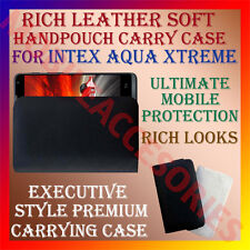 ACM-RICH LEATHER SOFT CASE for INTEX AQUA XTREME MOBILE HANDPOUCH COVER HOLDER