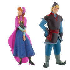 DISNEY FROZEN MOVIE DETAILED MINI TOY FIGURES / CAKE TOPPERS / ANNA OR KRISTOFF