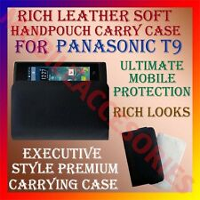 ACM-RICH LEATHER SOFT CASE for PANASONIC T9 MOBILE HANDPOUCH COVER HOLDER CASE