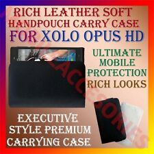 ACM-RICH LEATHER SOFT CASE for XOLO OPUS HD MOBILE HANDPOUCH COVER HOLDER CASE