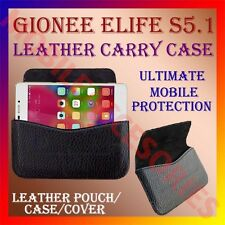 ACM-HORIZONTAL LEATHER CARRY CASE for GIONEE ELIFE S5.1 MOBILE RICH POUCH COVER