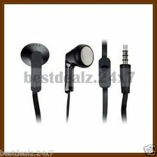 New Black OEM Original HTC RC E195 Flat Cable Out Ear Stereo Handsfree Headset