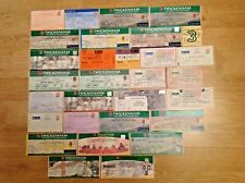 England Used Rugby Tickets 1961 - 2012