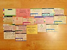 Ireland Used Rugby Tickets 1980 - 2006