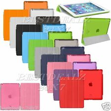 New Ultra Slim Smart Hard PU Plastic Back Case Smart Cover For Apple iPad Mini 2