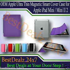 OEM Apple Ultra Thin Magnetic Smart Cover Case for Apple iPad Mini / Mini II 2