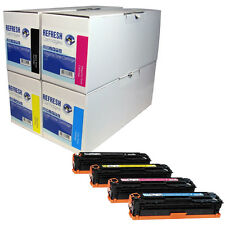 REFRESH CARTRIDGES CF380X CF381A CF382A CF383A TONER COMPATIBLE WITH HP PRINTERS