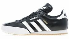 SAMBA, ADIDAS ORIGINALS, MENS SUPER LEATHER TRAINERS, SHOES, BLACK, UK 9 to 9.5