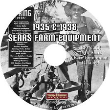 1935 and 1938 Sears Vintage Farm Equipment Catalog  on DVD