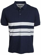MENS NEW FRENCH CONNECTION 56DNR WHITE CONTRAST CASUAL POLO SALE PRICE £19.99