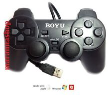 JOYSTICK CONTROLLER GAMEPAD USB WIRELESS PER PC NOTEBOOK E CONSOLLE PS2 PS3