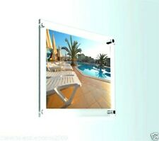 Clear Perspex Photo Frame Acrylic Wall Mount Poster Picture Holder Display