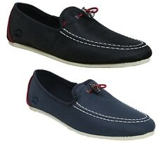 MENS NICHOLAS DEAKINS CHIMP-2 IN BLACK & NAVY COLOURS RIPSTOP LOAFERS 6 TO 12