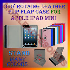 """ACM-ROTATING 360° LEATHER FLIP STAND COVER 8"""" CASE for APPLE IPAD MINI TABLET"""