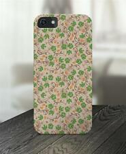Green Flower Floral Spiral 3D Printed Case for Apple iPhone 5 5C 6 + Plus s4 s5