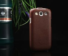GENUINE PREMIUM LEATHER FASHION ULTRA SLIM THIN CASE FOR SAMSUNG GALAXY S3 SIII