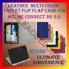 "ACM-LEATHER FLIP FLAP MULTI-COLOR 7"" COVER & STAND for HCL ME CONNECT 2G 2.0 TAB"