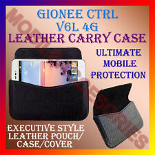 ACM-HORIZONTAL LEATHER CARRY CASE for GIONEE CTRL V6L 4G MOBILE POUCH COVER NEW
